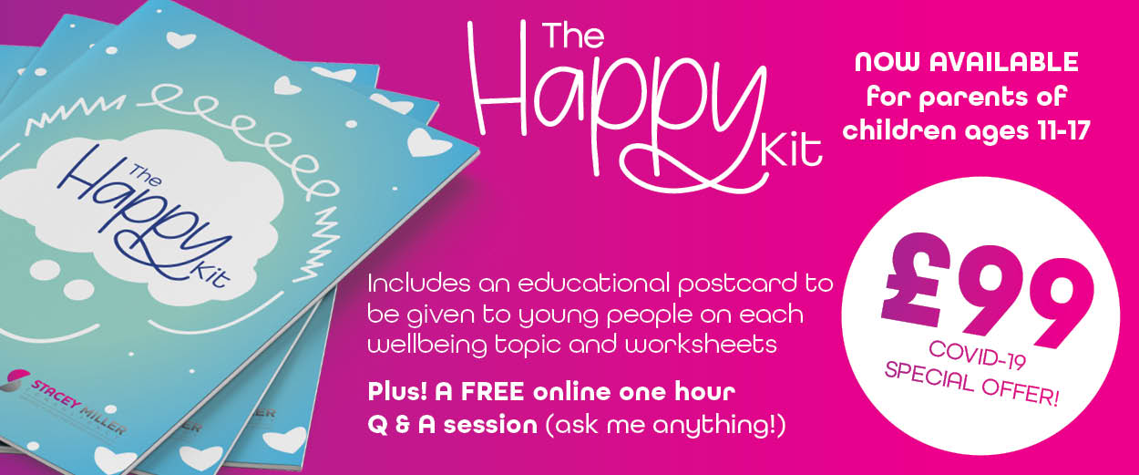 The Happy Kit by Stacey Miller Consultancy | Mental Health toolkit for young people